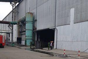 Nổ nhà máy thép ở Hải Phòng, 1 người chết, 11 người bị thương
