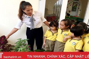Cô giáo mầm non miền núi 2 lần được Chủ tịch UBND tỉnh tặng bằng khen