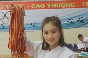 Người đẹp sinh viên kiêm võ sĩ karate là đại biểu Đại hội sinh viên toàn quốc
