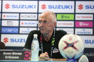 HLV Eriksson tâm phục khẩu phục, hết lời khen ngợi đội tuyển Việt Nam