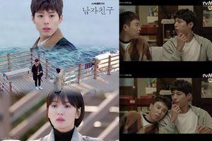 Tập 3-4 'Encounter': Park Bo Gum bị khán giả chê khi đứng cạnh Song Hye Kyo nhưng lại được yêu thích khi thể hiện tình cảm với P.O