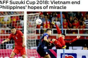 Báo quốc tế nói gì về chiến thắng của đội tuyển Việt Nam trước Philippines?