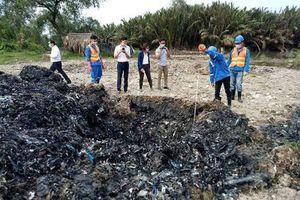 TP.HCM: UBND TP chỉ đạo xử lý vụ đem chất thải đi san lấp mặt bằng