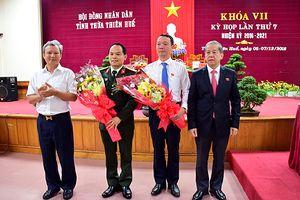 Thừa Thiên Huế: Giám đốc Sở KH&ĐT được bầu làm Phó Chủ tịch tỉnh