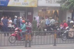 TP.HCM: Cướp ngân hàng táo tợn ở quận Bình Thạnh