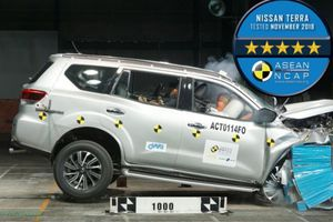 Nissan Terra được xếp hạng an toàn 5 sao từ ASEAN NCAP