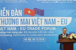 Khai mạc Diễn đàn Thương mại nông sản Việt Nam-EU