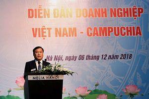 Tạo sự lưu thông thuận lợi cho dòng chảy đầu tư Việt Nam - Campuchia để hai bên cùng phát triển, cùng có lợi