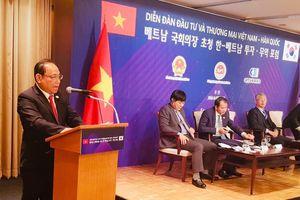 Diễn đàn đầu tư và thương mại Việt Nam - Hàn Quốc