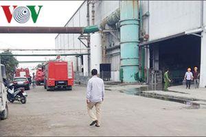 Nổ lớn ở nhà máy thép Dragon (Hải Phòng), nhiều người bị thương