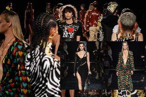 Donatelle Versace tái hiện lại các thiết kế kinh điển của Versace trong show diễn tại New York