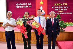 Thừa Thiên - Huế có Phó chủ tịch UBND tỉnh mới