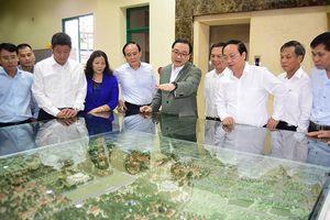 Bí thư Thành ủy Hà Nội Hoàng Trung Hải làm việc với Sở Quy hoạch - Kiến trúc