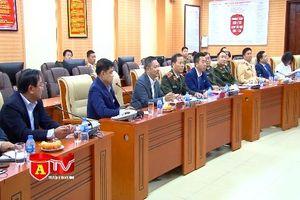 Cục CSGT và trật tự công cộng, Bộ Nội vụ Vương quốc Campuchia đến thăm CATP Hà Nội