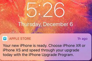iPhone bán chậm, Apple bắn tin mời người dùng lên đời