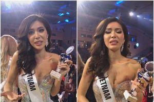 Minh Tú nghẹn ngào xin lỗi vì kết quả top 10 Miss Supranational