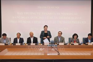 Hà Nội báo cáo Đảng đoàn Quốc hội về Đề án thí điểm chính quyền đô thị