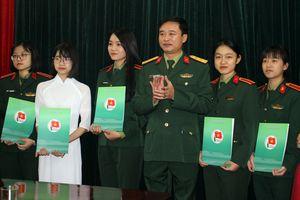 Gặp mặt, giao nhiệm vụ cho Đoàn đại biểu học viên Quân đội dự Đại hội sinh viên toàn quốc lần thứ X