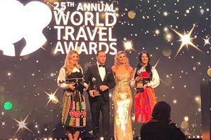Intercontinental Danang Sun Peninsula Resort cùng lúc đón nhận 4 giải thưởng danh giá