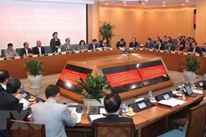 TP Hà Nội báo cáo Đảng đoàn Quốc hội về Đề án thí điểm chính quyền đô thị