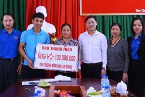 Hỗ trợ 100 triệu đồng cho trường mầm non vùng cao Mường Lát