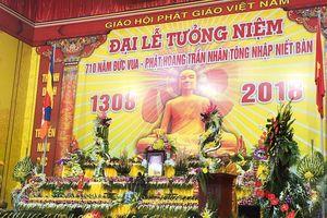 Đại lễ tưởng niệm 710 năm Đức vua- Phật hoàng Trần Nhân Tông nhập niết bàn