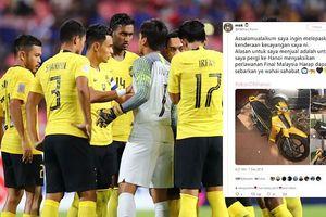 Fan Malaysia bán tài sản để tới Hà Nội xem chung kết AFF Cup 2018