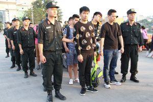 Bắt 10 nghi phạm người Trung Quốc lừa đảo, chiếm đoạt tài sản