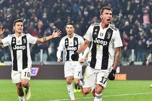 Đánh gục Inter, Juventus lập kỷ lục đáng nể