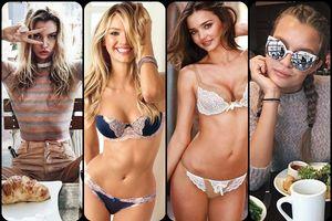 Bật mí chế độ ăn uống của các siêu mẫu Victoria' s Secret