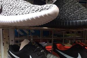 Hơn 87 triệu USD giày thể thao giả bị tiêu hủy ở Trung Quốc