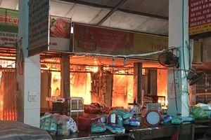 Đẩy mạnh tuyên truyền để giảm nguy cơ cháy chợ