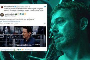 Không phải Doctor Strange, chính Iron Man mới là người nói 'Endgame' đầu tiên trong MCU!