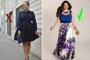 4 cách ăn mặc khiến nàng béo kém sang, số 3 nhiều người mắc phải