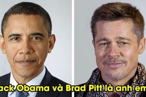 Bất ngờ 20 người nổi tiếng hóa ra có họ hàng, Barack Obama và Brad Pitt là anh em họ