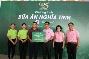 Foodbank cùng C.P. Việt Nam trao tặng 25.000 suất ăn cho trẻ em có hoàn cảnh khó khăn