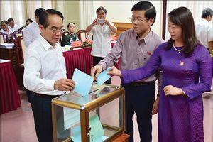 Kết quả lấy phiếu tín nhiệm đối với những người giữ chức vụ do Hội đồng Nhân dân tỉnh bầu tại một số địa phương trong cả nước