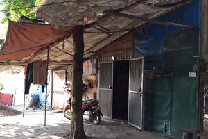 Tại phường Ngọc Thụy, quận Long Biên: Vi phạm hành lang thoát lũ