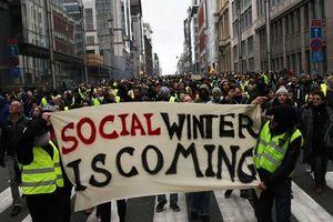Bỉ bắt giữ 70 người biểu tình 'áo vàng'