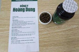Sản phẩm giảm cân Đông y Hoàng Dung dùng giấy tờ giả, cảnh báo không nên mua