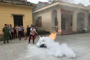 Chủ động phòng ngừa, ngăn chặn các vụ cháy lớn