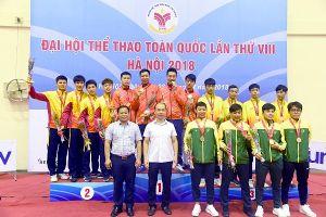 Chủ nhà Hà Nội xếp nhất môn đấu kiếm Đại hội thể thao toàn quốc 2018