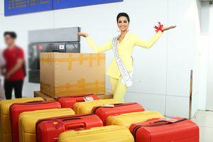 H'Hen Niê mang 80 bộ trang phục đến Miss Universe
