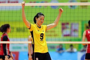 Ngọc Hoa tỏa sáng, Long An giành HCV bóng chuyền nữ tại Đại hội