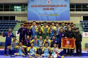 Đánh bại 2 'Thái Sơn', Khánh Hòa vô địch Đại hội TDTT môn futsal