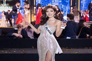 Minh Tú được trao giải Hoa hậu Siêu quốc gia châu Á 2018