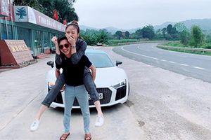 Cường Đô la lái siêu xe về Lạng Sơn hỏi vợ?