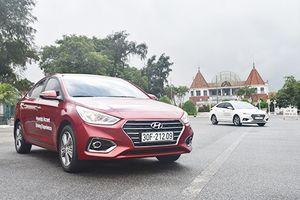 Hyundai Accent tiếp tục hút là xe sedan hút khách Việt