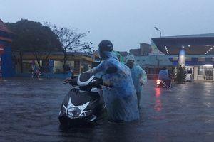 Quảng Trị và Đà Nẵng ngập diện rộng sau mưa lớn