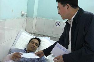 Lãnh đạo TP Hải Phòng thăm nạn nhân vụ nổ lò luyện thép